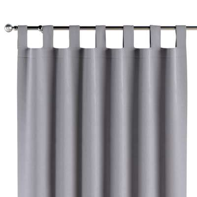Tab top curtains 704-24 grey Collection Posh Velvet
