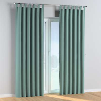 Tab top curtains 704-18 dusty mint green Collection Posh Velvet