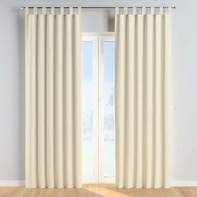 Tab top curtains in collection Posh Velvet, fabric: 704-10