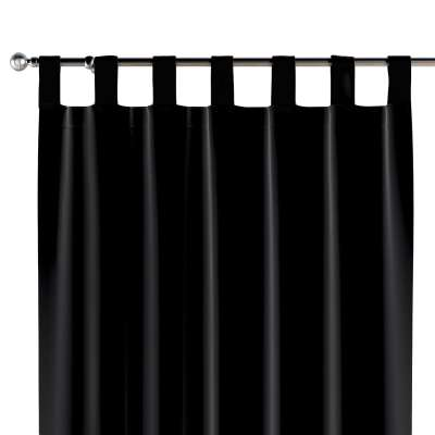 Tab top curtains 704-17 black Collection Posh Velvet