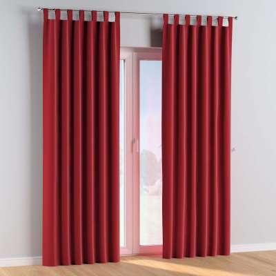 Kilpelių užuolaidos 1 vnt. 704-15 raudona Kolekcija Posh Velvet