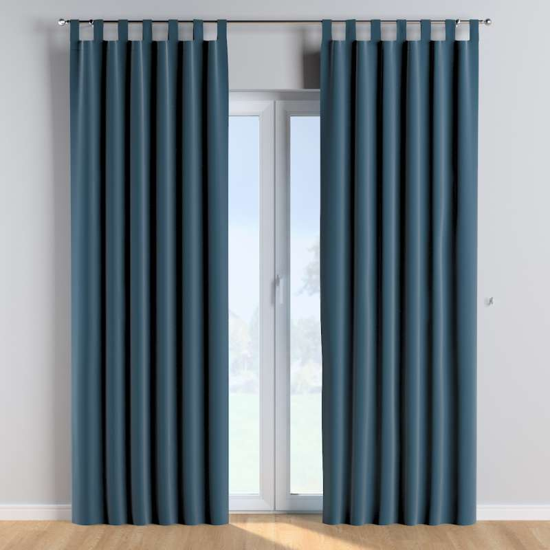 Tab top curtains in collection Posh Velvet, fabric: 704-16