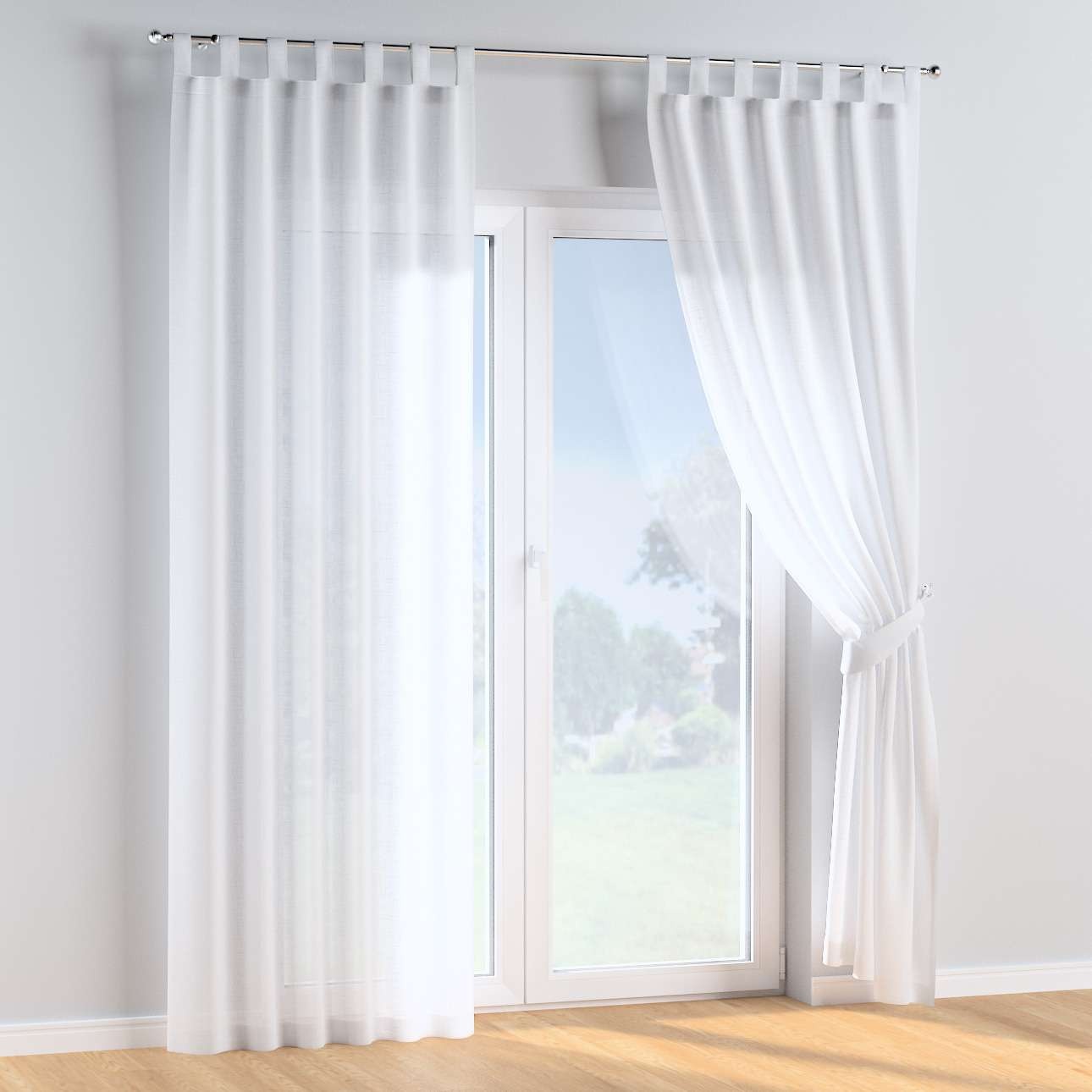 Tab top curtains in collection Sweet Secret, fabric: 128-77