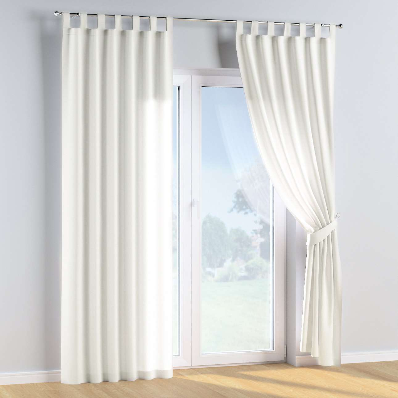 Tab top curtains in collection Cotton Story, fabric: 702-34