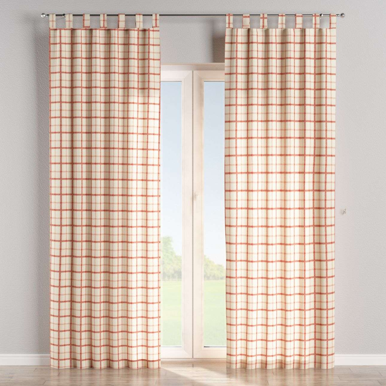 Tab top curtains 130 × 260 cm (51 × 102 inch) in collection Avinon, fabric: 131-15