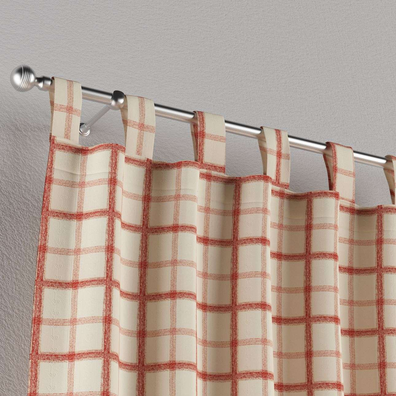Tab top curtains in collection Avinon, fabric: 131-15