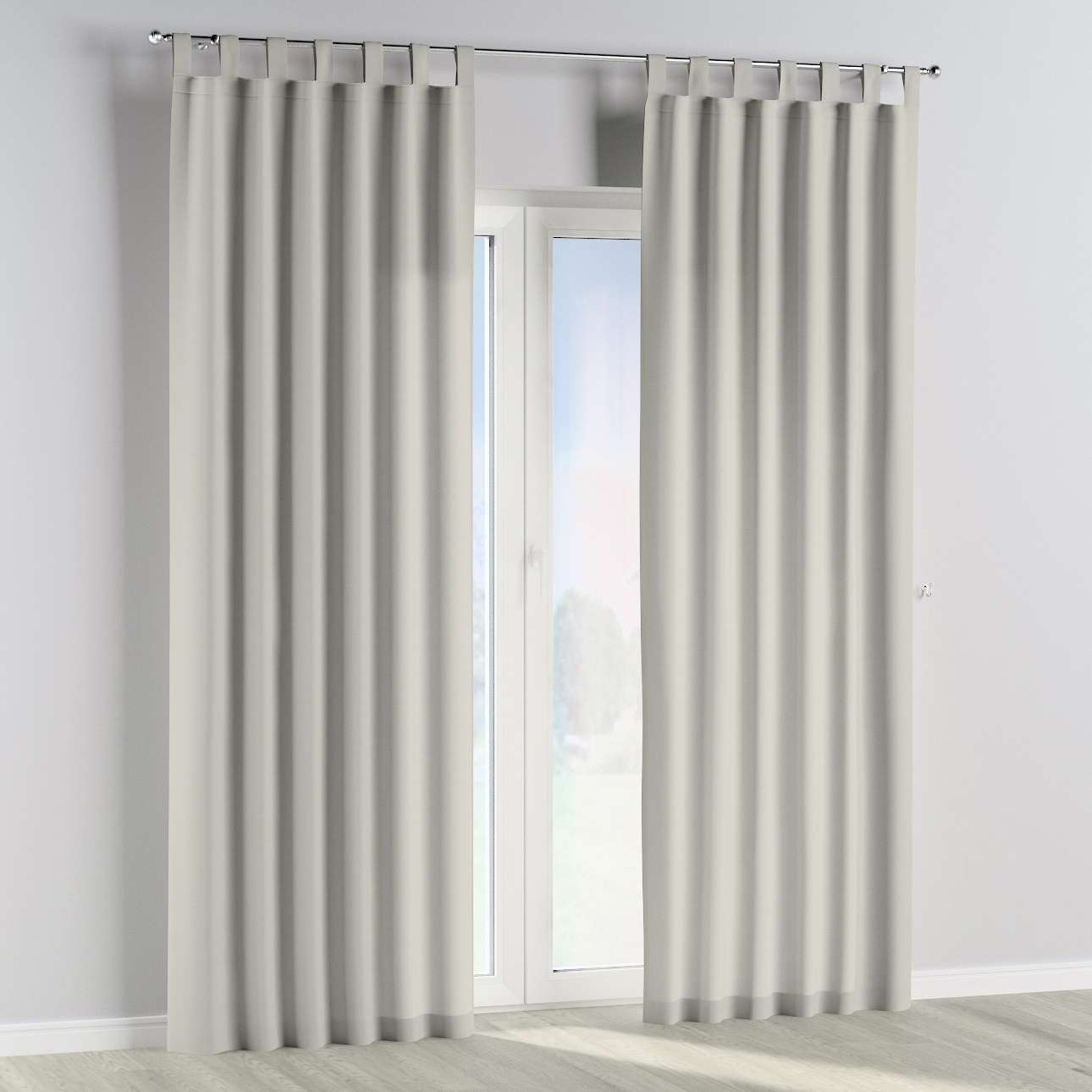Tab top curtains in collection Cotton Story, fabric: 702-31