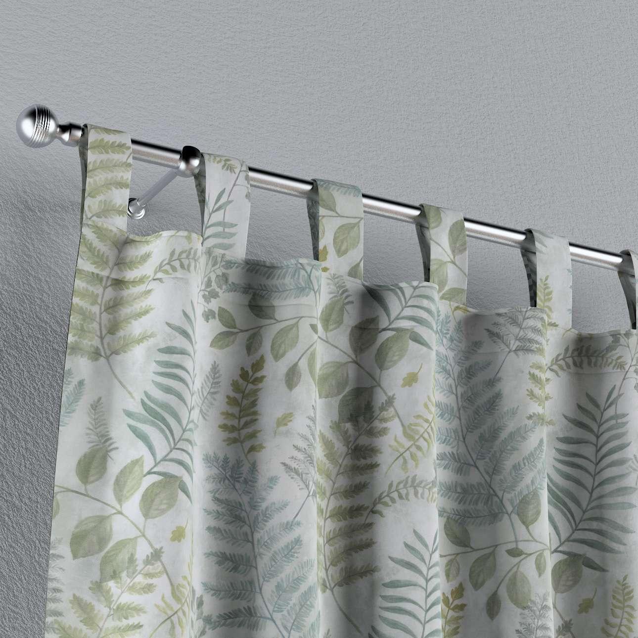 Záves na pútkach V kolekcii Tropical Island, tkanina: 142-46