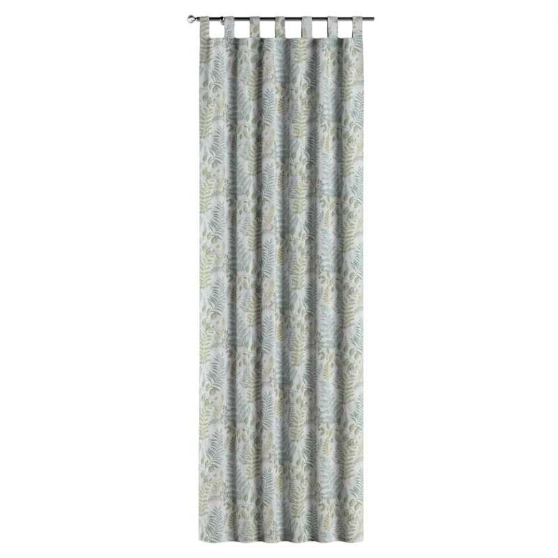 Zasłona na szelkach 1 szt. w kolekcji Pastel Forest, tkanina: 142-46