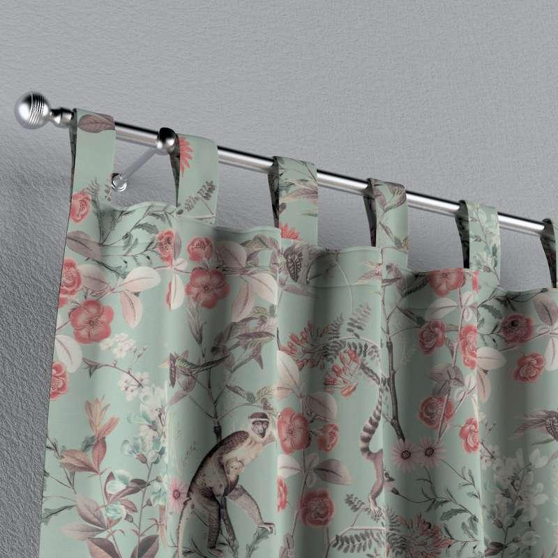 Záves na pútkach V kolekcii Tropical Island, tkanina: 142-62