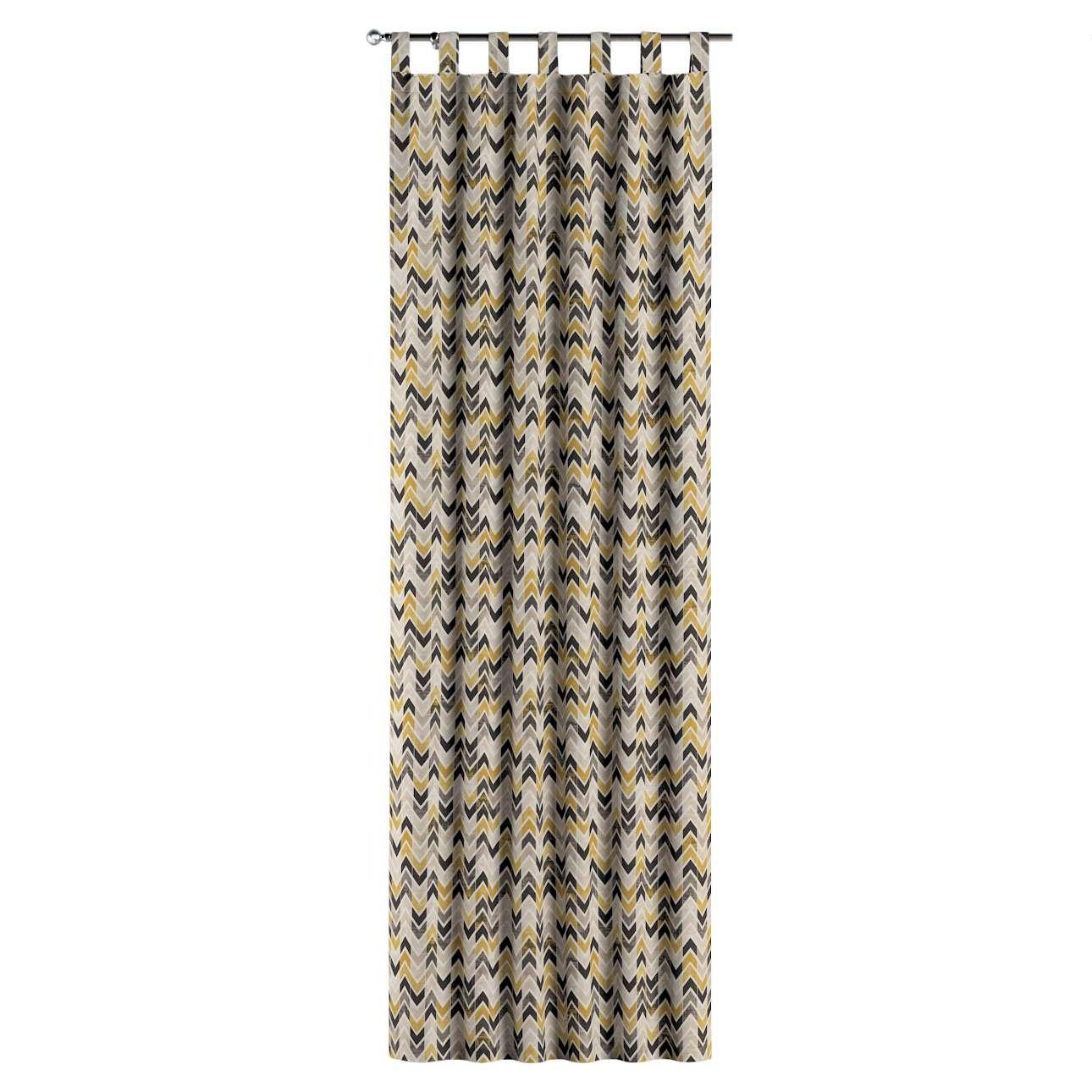 Zasłona na szelkach 1 szt. w kolekcji Modern, tkanina: 142-79