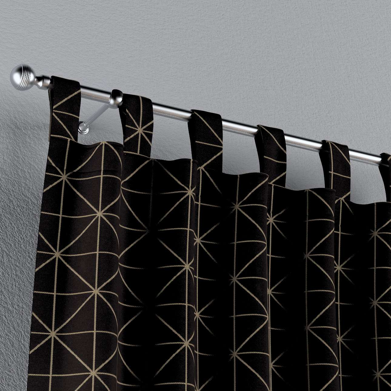 Schlaufenschal von der Kollektion Black & White, Stoff: 142-55