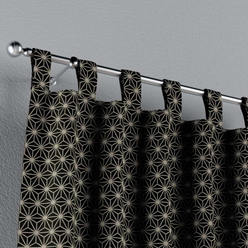 Záves na pútkach V kolekcii Black & White, tkanina: 142-56