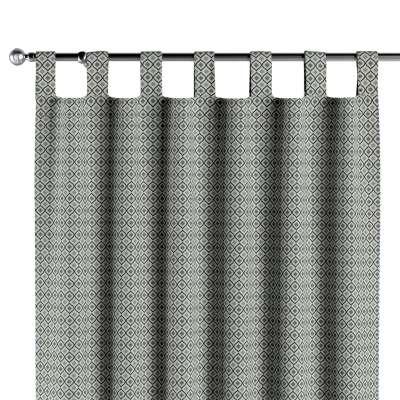 Zasłona na szelkach 1 szt. w kolekcji Black & White, tkanina: 142-76