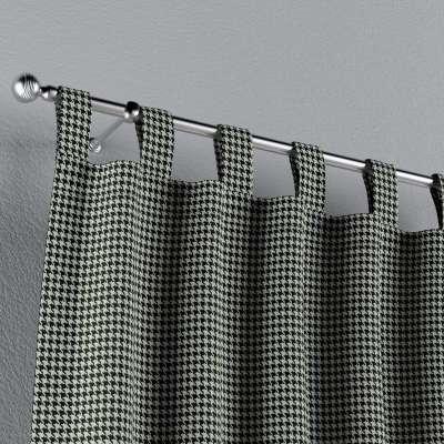 Zasłona na szelkach 1 szt. w kolekcji Black & White, tkanina: 142-77