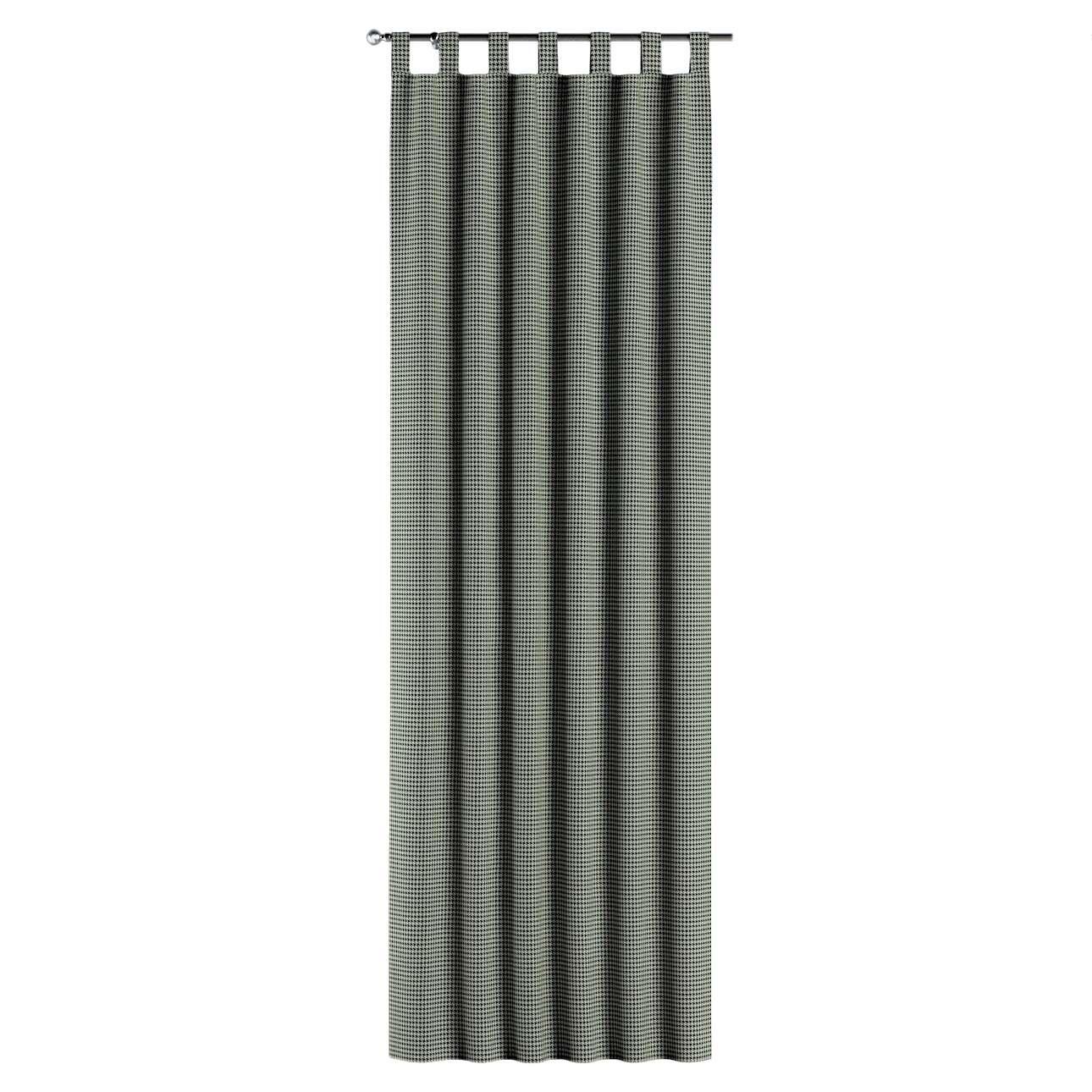 Füles függöny a kollekcióból Black & White szövet, Dekoranyag: 142-77