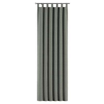 Gordijn met lussen van de collectie Black & White, Stof: 142-77