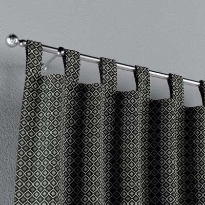 Zasłona na szelkach 1 szt. w kolekcji Black & White, tkanina: 142-86