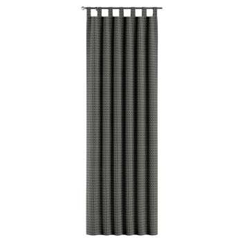 Závěs na poutka v kolekci Black & White, látka: 142-86