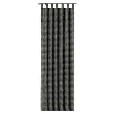 Gardin med stropper 1 stk. fra kolleksjonen Black & White, Stoffets bredde: 142-86