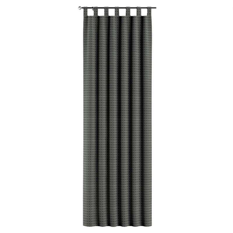 Záves na pútkach V kolekcii Black & White, tkanina: 142-86