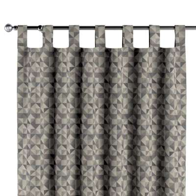 Tab top curtain 142-84 grey- blue Collection SALE