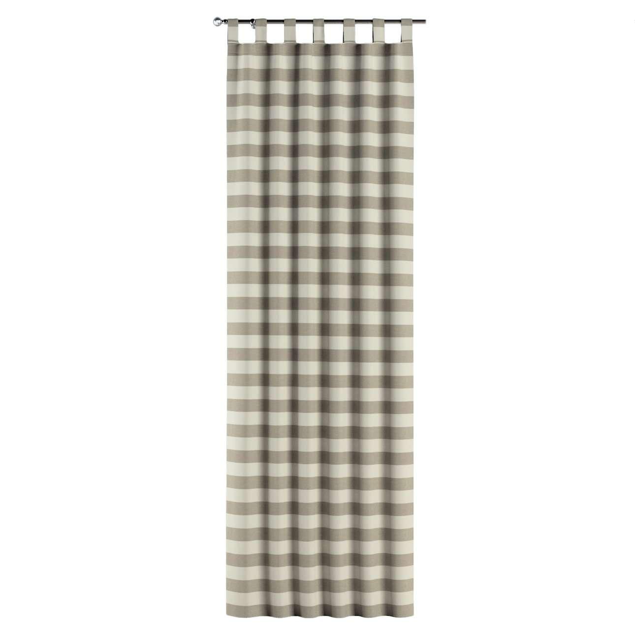 Zasłona na szelkach 1 szt. w kolekcji Quadro, tkanina: 142-73