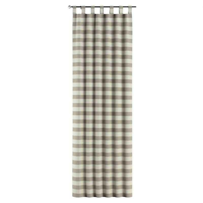 Gardin med stropper 1 stk. fra kolleksjonen Quadro, Stoffets bredde: 142-73