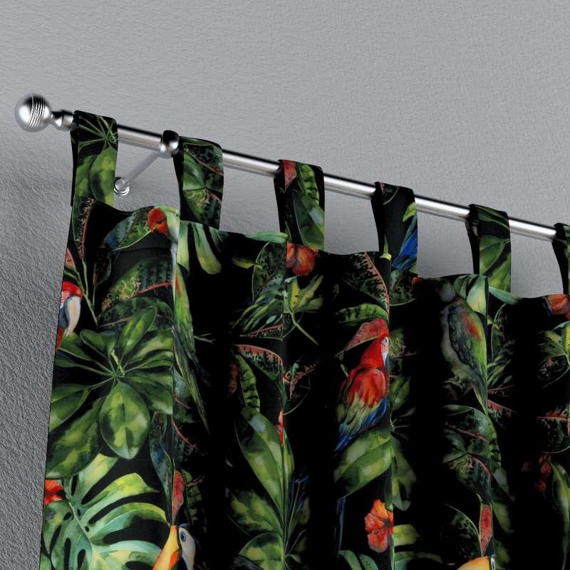 Gardin med stropper 1 stk. fra kollektionen Velvet, Stof: 704-28