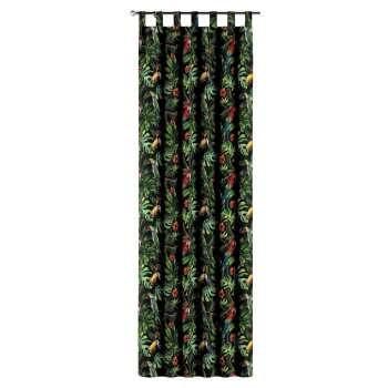 Gardin med hällor 1 längd i kollektionen Velvet, Tyg: 704-28
