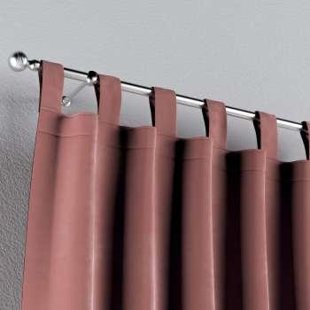 Zasłona na szelkach 1 szt. w kolekcji Velvet, tkanina: 704-30