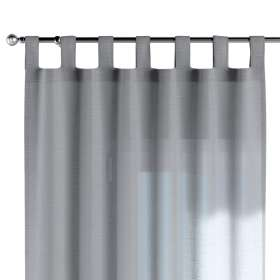 Tab top curtain