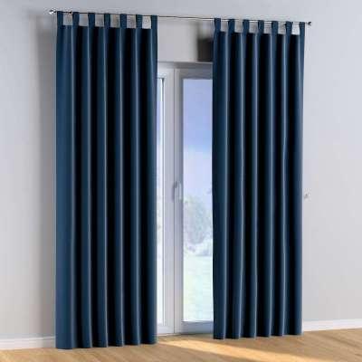 Kilpelių užuolaidos 1 vnt. 704-29 tamsi mėlyna Kolekcija Posh Velvet