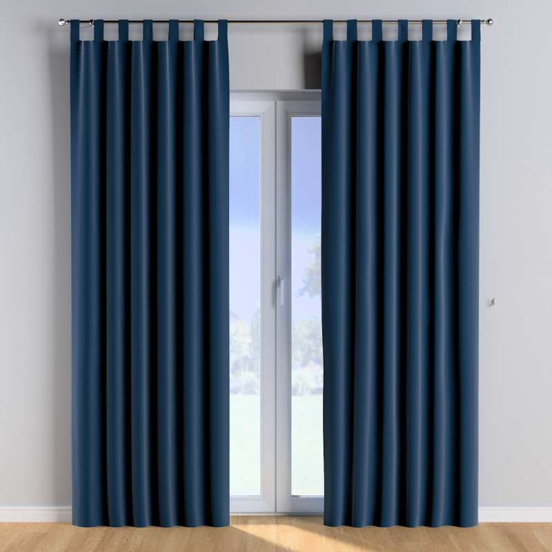 Tab top curtains in collection Posh Velvet, fabric: 704-29