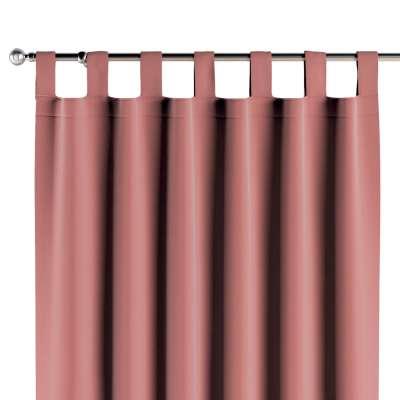 Tab top curtains 704-30 zgaszony koral Collection Posh Velvet