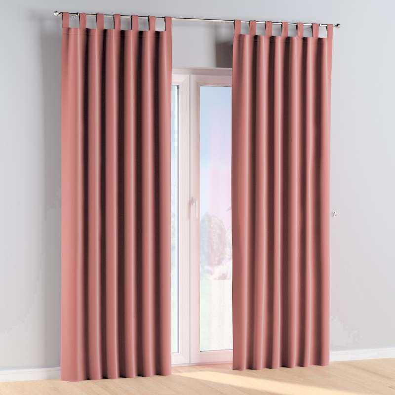 Tab top curtains in collection Posh Velvet, fabric: 704-30