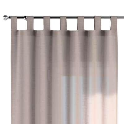 Tab top curtains 142-89 transparent beige Collection Sweet Secret