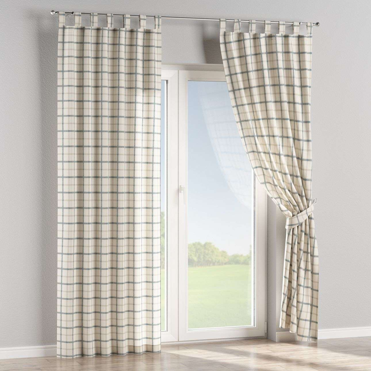 Tab top curtains 130 × 260 cm (51 × 102 inch) in collection Avinon, fabric: 131-66
