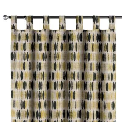 Gardin med stropper 1 stk. 142-99 Naturhvid med print Kollektion Modern