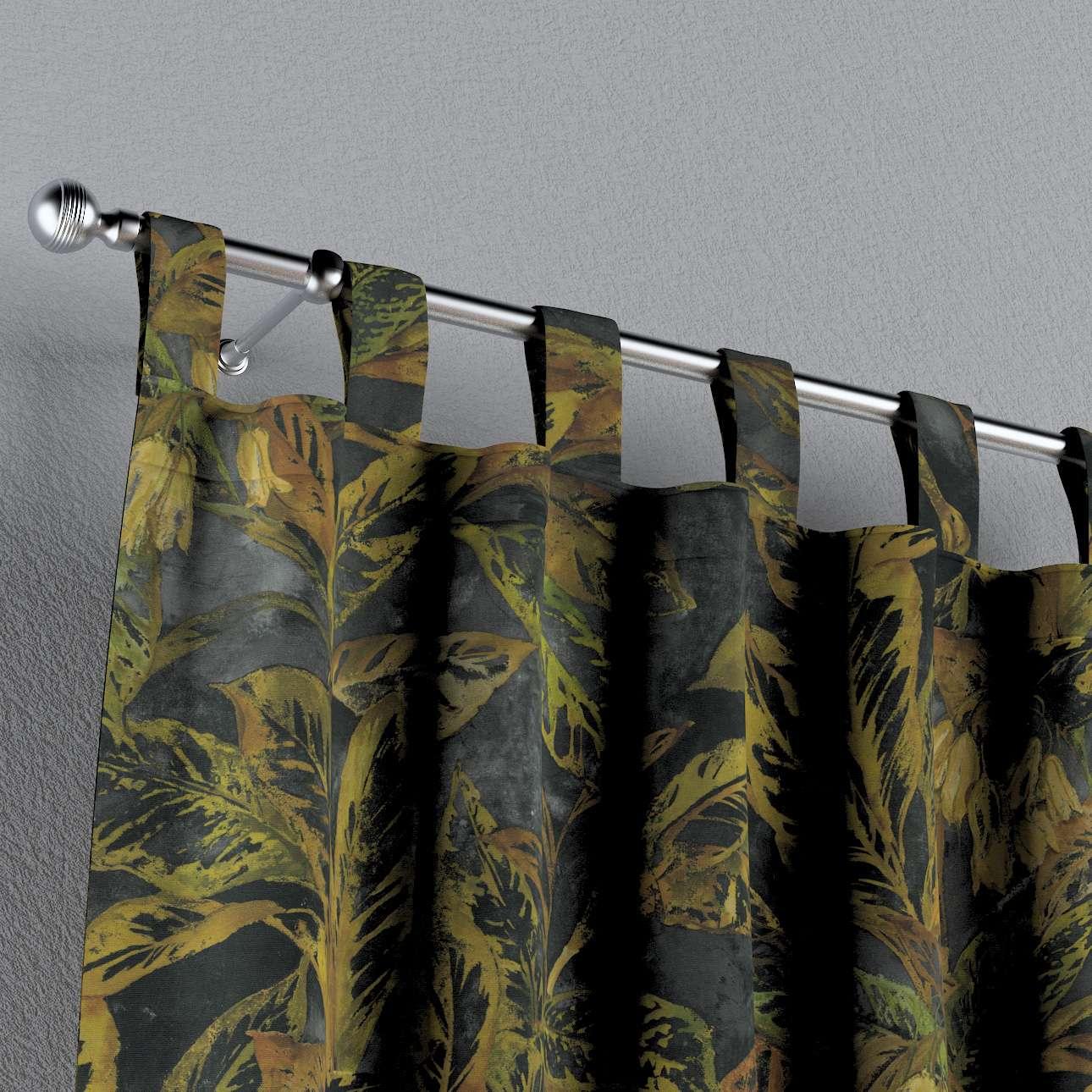 Zasłona na szelkach 1 szt. w kolekcji Abigail, tkanina: 143-01
