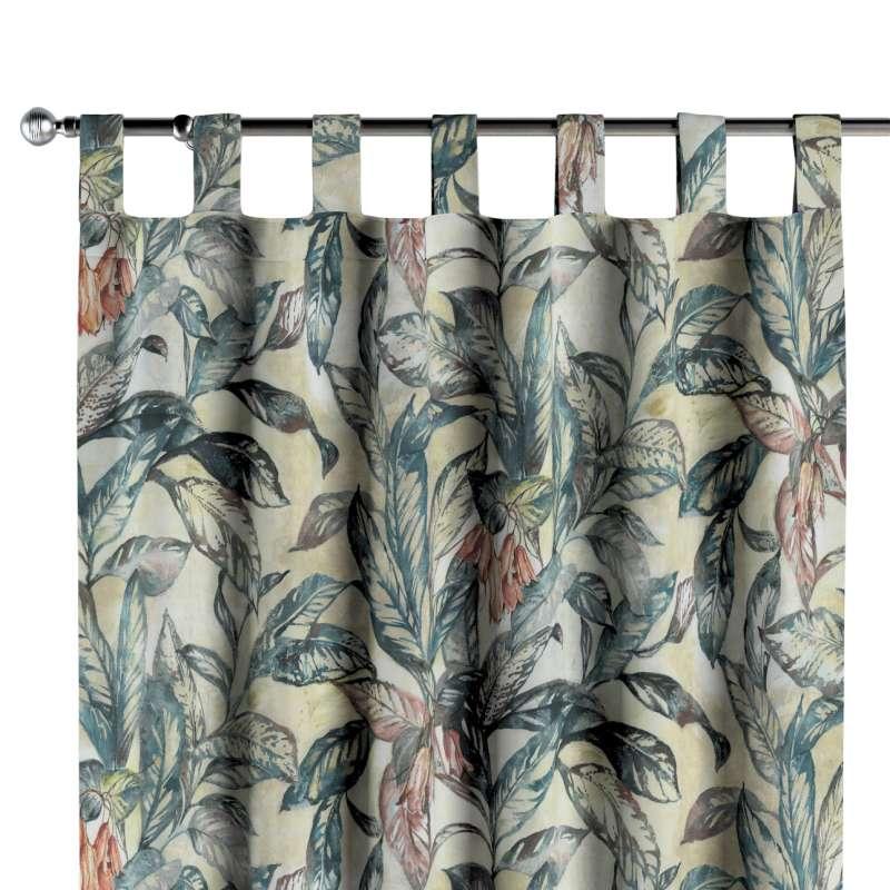 Záves na pútkach V kolekcii Abigail, tkanina: 143-08
