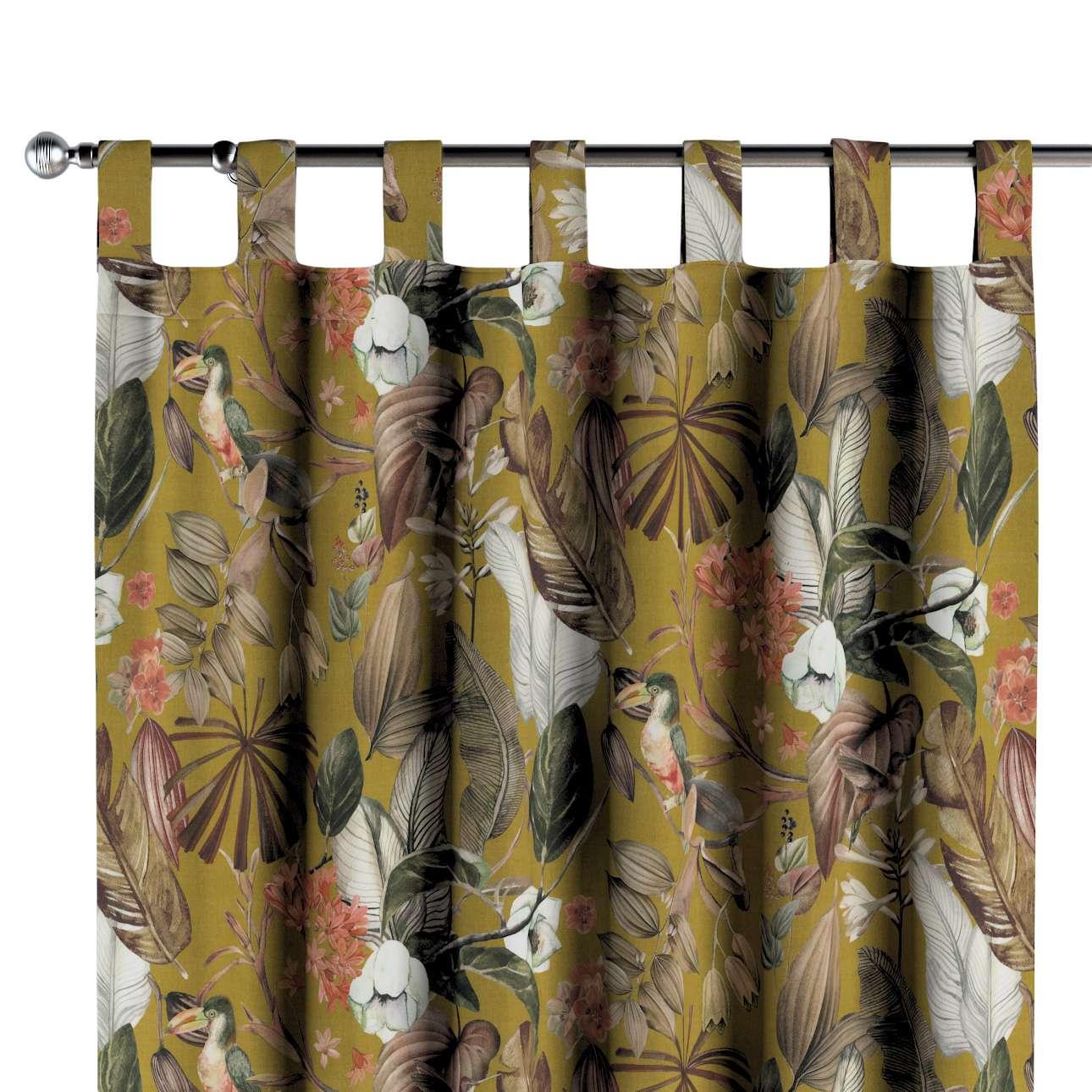 Zasłona na szelkach 1 szt. w kolekcji Abigail, tkanina: 143-09