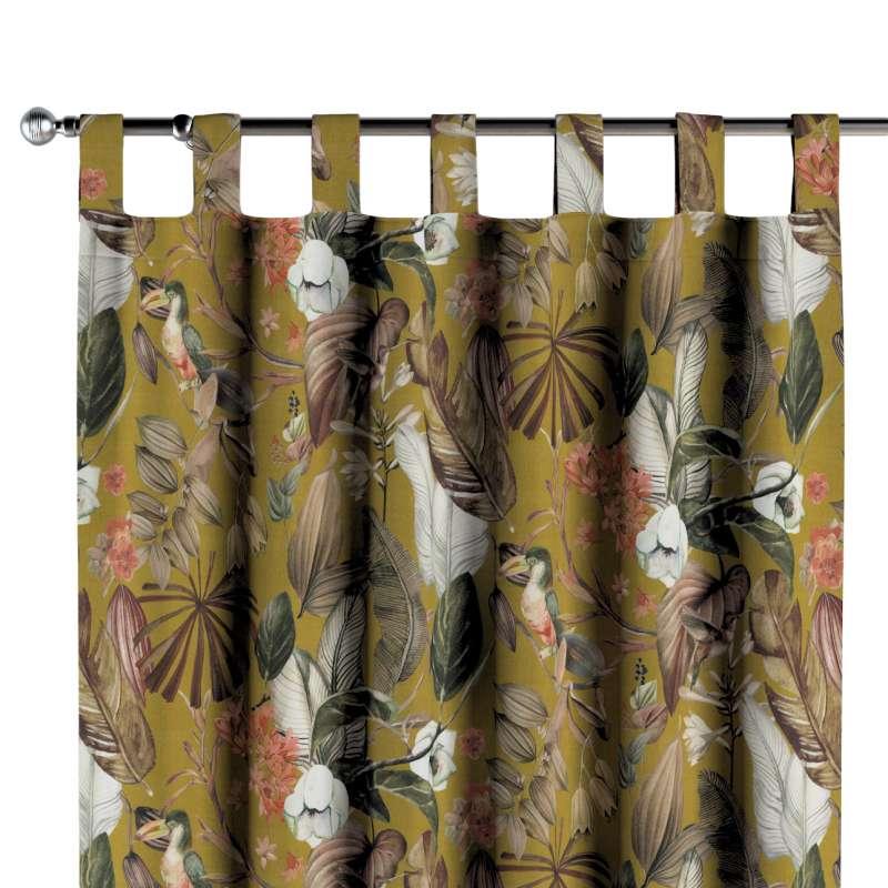 Záves na pútkach V kolekcii Abigail, tkanina: 143-09