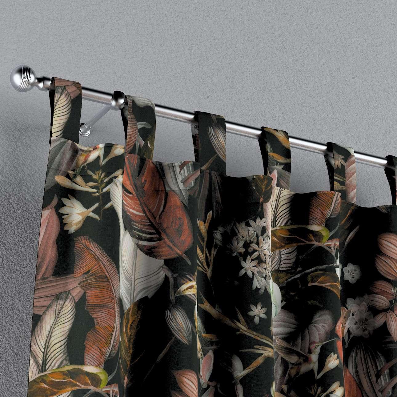 Zasłona na szelkach 1 szt. w kolekcji Abigail, tkanina: 143-10