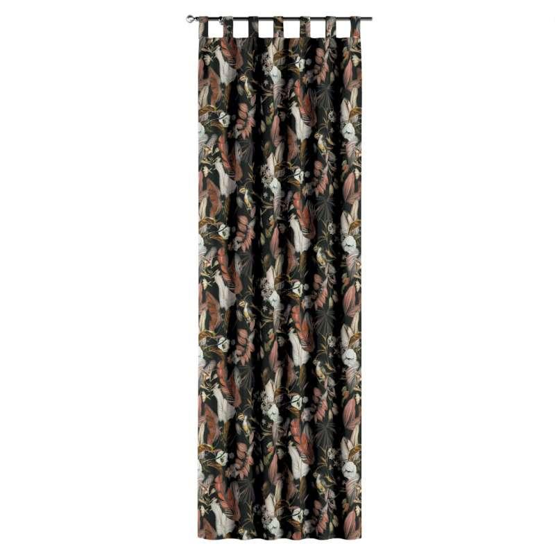 Gardin med hällor 1 längd i kollektionen Abigail, Tyg: 143-10