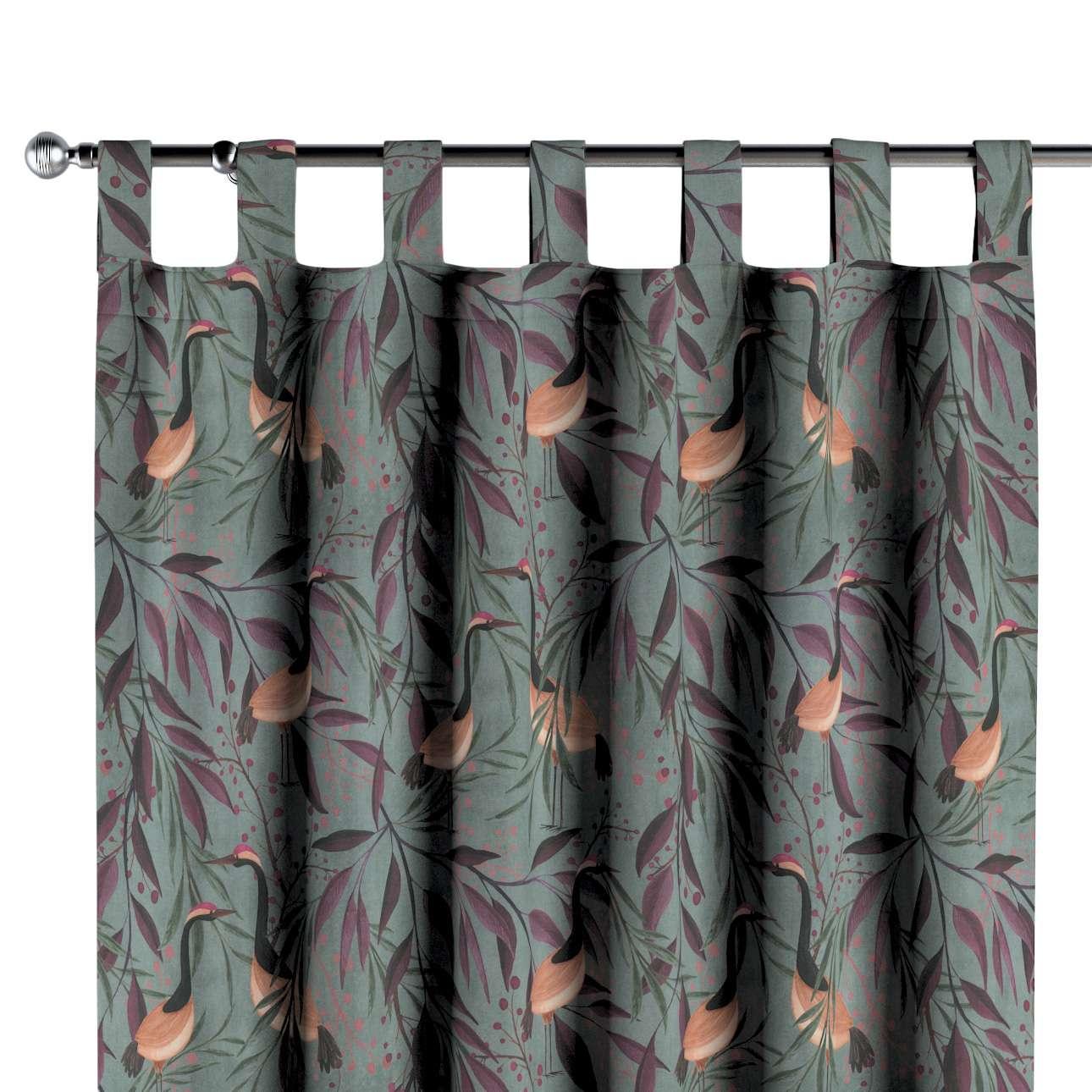 Zasłona na szelkach 1 szt. w kolekcji Abigail, tkanina: 143-11