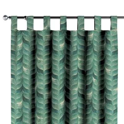Zasłona na szelkach 1 szt. w kolekcji Abigail, tkanina: 143-16