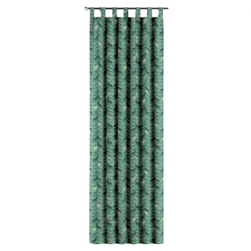 Gardin med hällor 1 längd i kollektionen Abigail, Tyg: 143-16