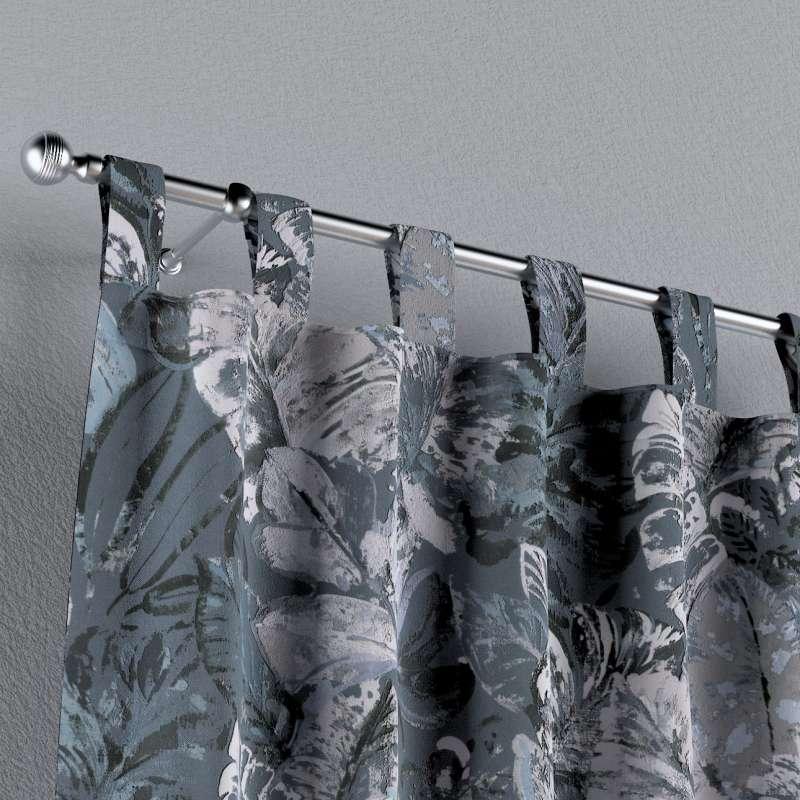 Zasłona na szelkach 1 szt. w kolekcji Abigail, tkanina: 143-18