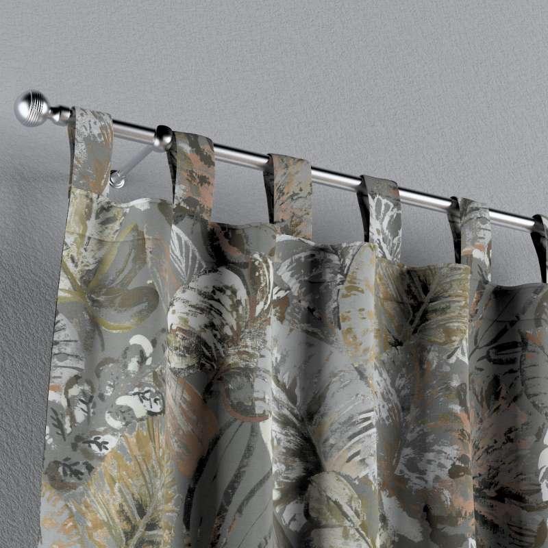 Zasłona na szelkach 1 szt. w kolekcji Abigail, tkanina: 143-19